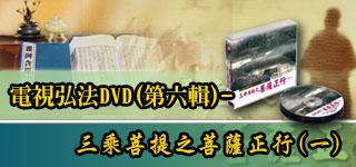 電視弘法DVD(第六輯),三乘菩提之菩薩正行(一)