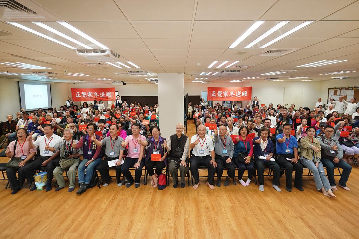2019年度寒冬送暖台北市士林區活動合照