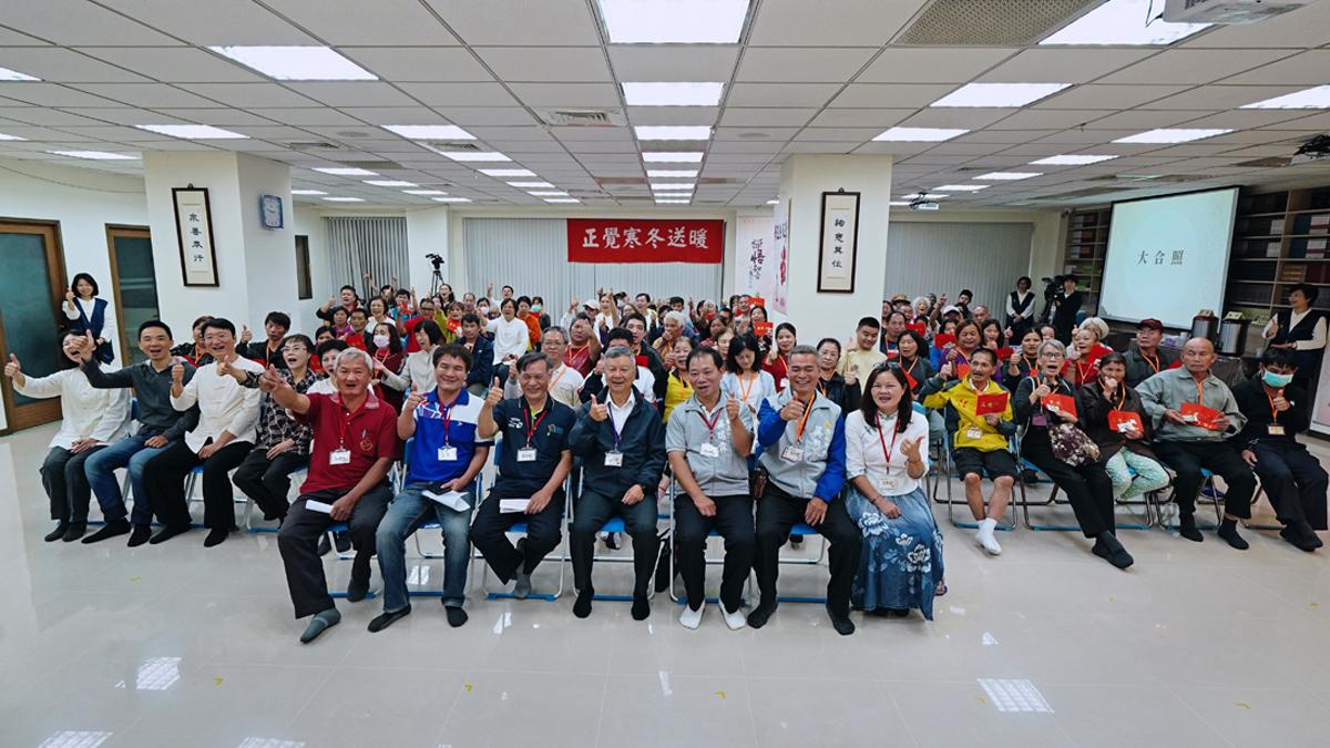 2019年度寒冬送暖新竹市(下午)活動大合照