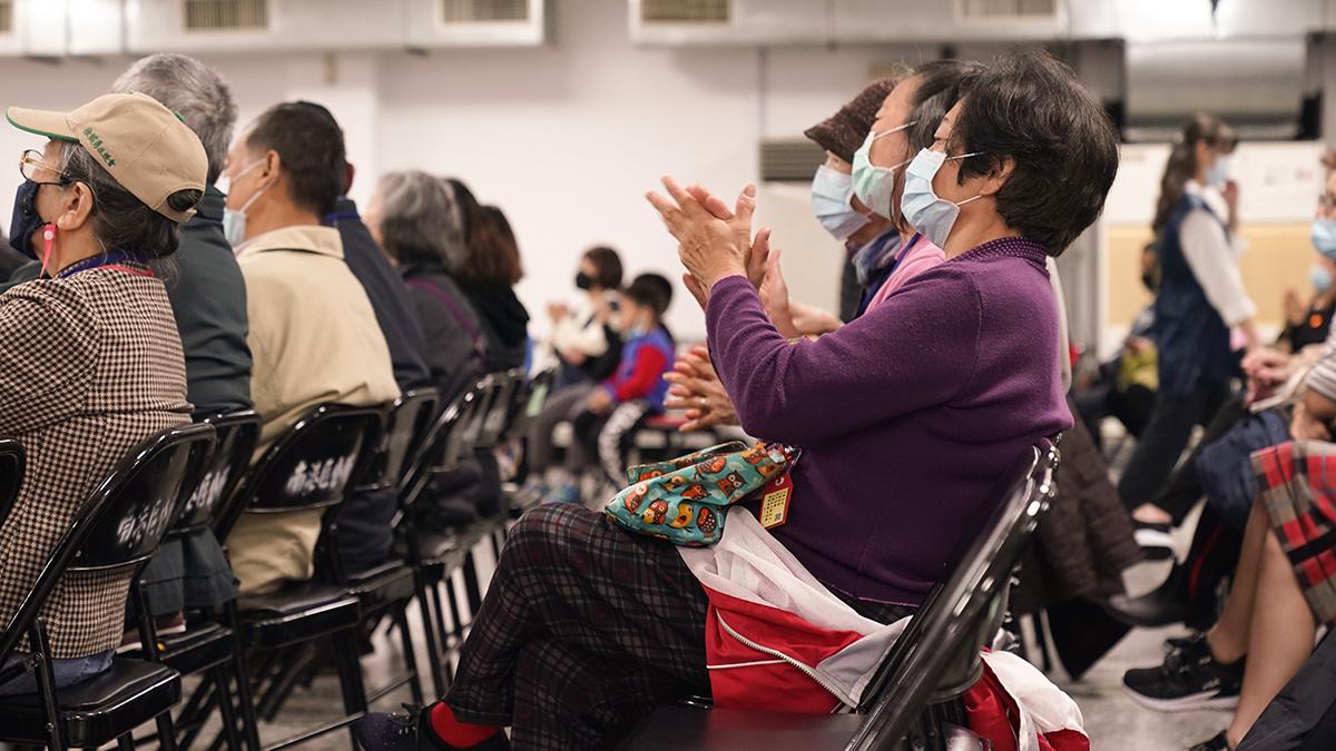 2020年度台北市南港區寒冬送暖活動