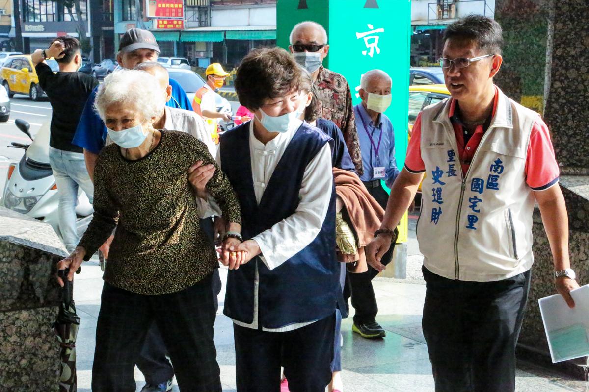 2020年度台南講堂寒冬送暖活動