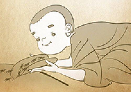 救生──沙彌救蟻子水災得長命報緣